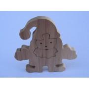 Drvene puzzle - Djed Mraz