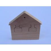 Drvene puzzle - Kuća