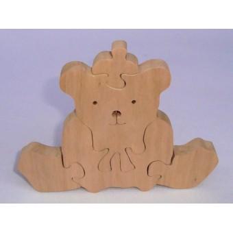 Drvene puzzle - Medo