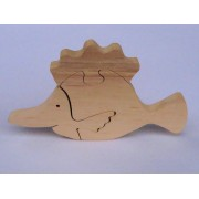 Drvene puzzle - Riba
