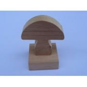 Drvene slagalice na štapiću - Gljiva