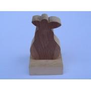 Drvene slagalice na štapiću - Kruška