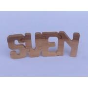 Drvena slova puzzle