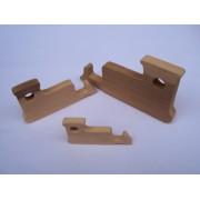 Drvena igračka - vozilo bez kotača - Buldožer