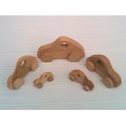 Drvena igračka - vozilo - Fićo