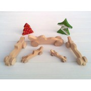 Drvena igračka - vozilo - Formula