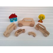 Drvena igračka - vozilo - Mini