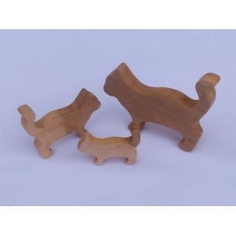 Drvena životinja - Mačka 2