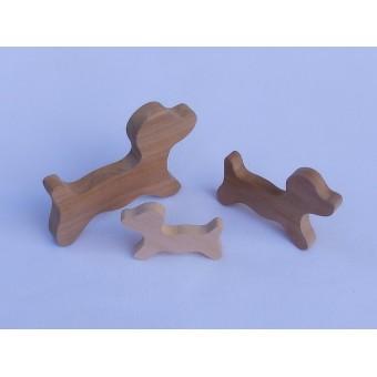 Drvena životinja - Pas 3
