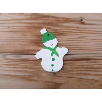 Božićni ukras - Snjegović 2