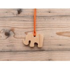 Drveni nakit - Slon