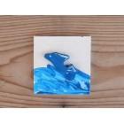 Drvena sličica - mala - Delfin
