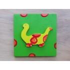 Drvena sličica - srednja - Dino