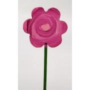 Drveno cvijeće i ukrasi - Cvijet 2
