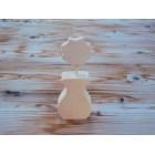Drvena teglica - srednja - Teglica 1
