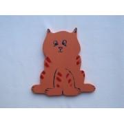 Drveni ukras za zid - Mačka