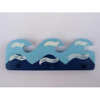 Drvena vješalica - mala - More