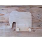Drvena vješalica - velika - Slon 2