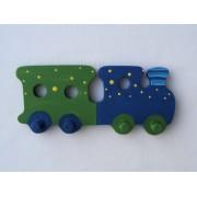 Drvena vješalica - mala - Vlak 1