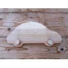 Drvena vješalica - velika - Auto 1
