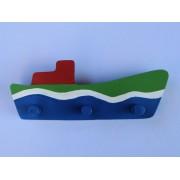 Drvena vješalica - velika - Brod 7