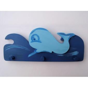 Drvena vješalica - velika - More i kit